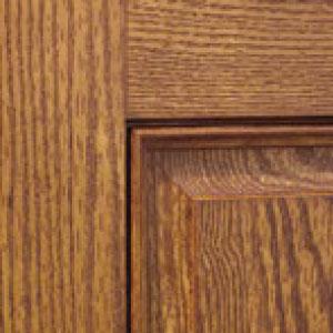Porte de fibre de verre avec grain de bois