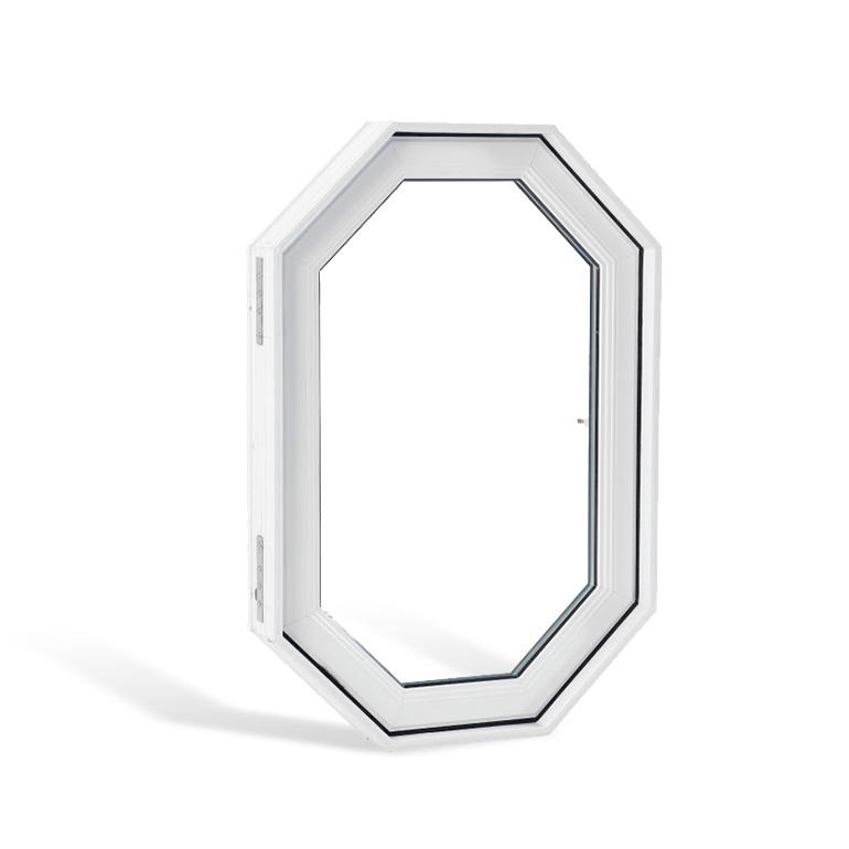 Fenêtre architecturale PVC