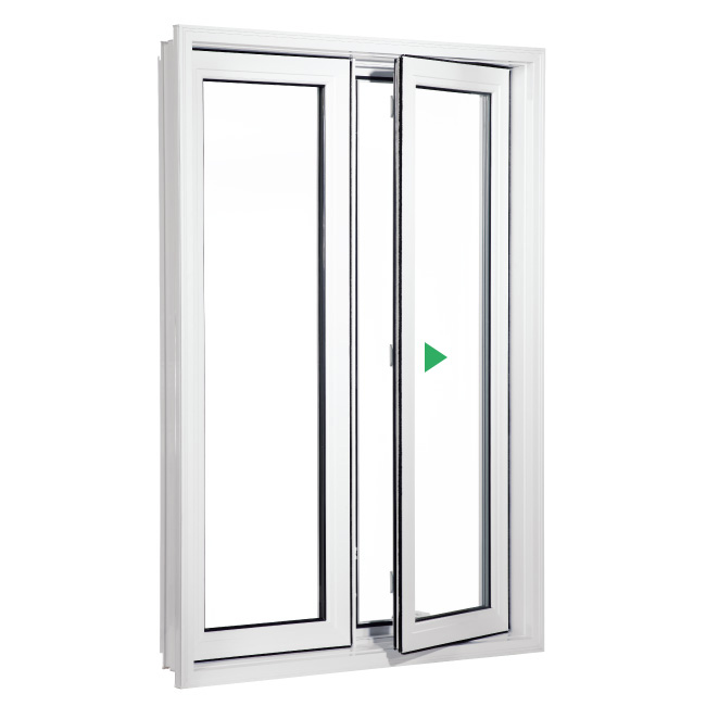 Battant pvc gigu re portes et fen tres for Porte fenetre 1 battant