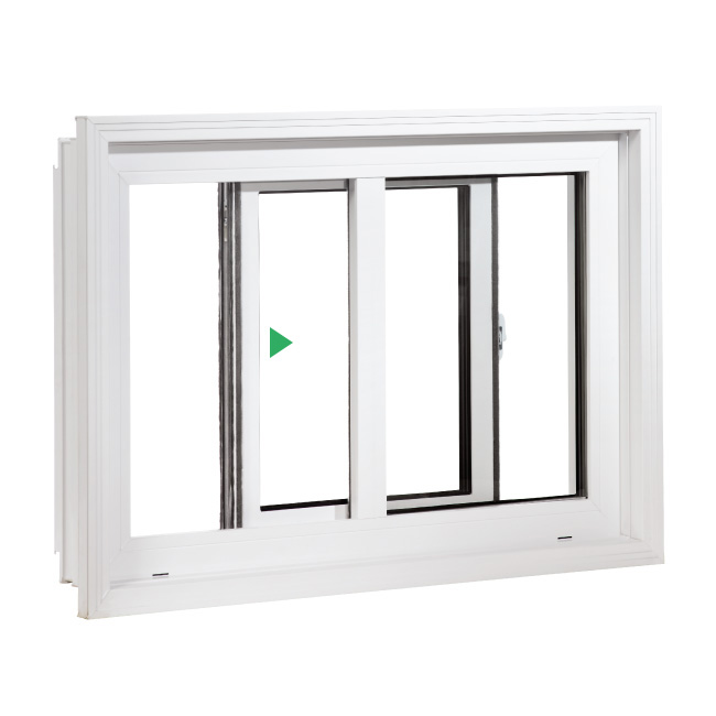 Fenêtre coulissante simple PVC