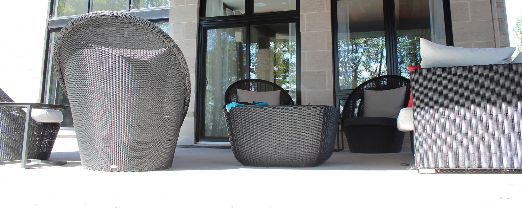 Porte-patio Hybride